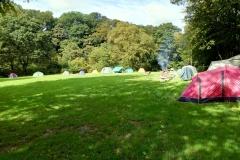 Main camping field