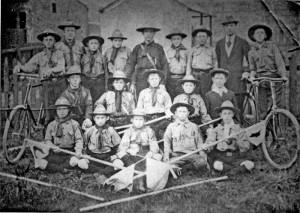 Sandylands Boy Scouts 1910