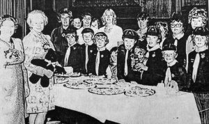 35th Lancaster Cubs at a coffee evening in the Mayor's Parlour in 1975