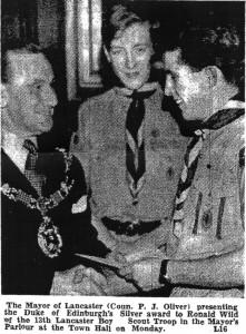 D of E Award 1960