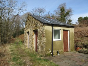 Top field toilet block