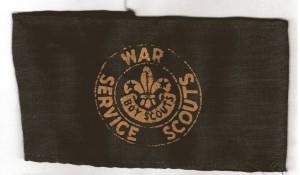 War-Service-Armband