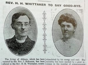 Rev & Mrs H. H. Whittaker