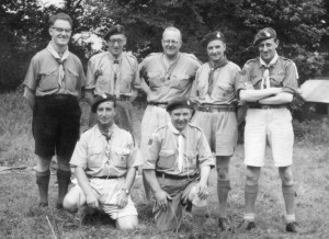 Morecambe Scouters 1954