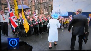 Lonsdale Cubs greet the Queen